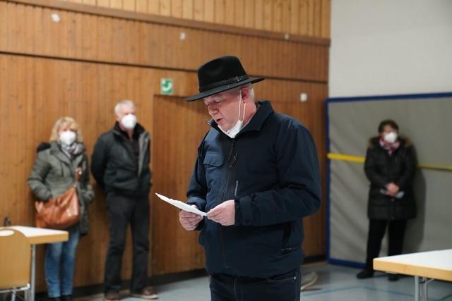 Manfred Kreutz als Bürgermeister von St. Märgen wiedergewählt