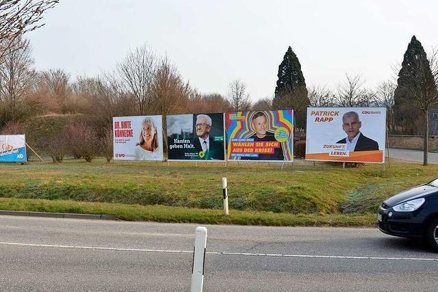 Bündnis 90/Die Grünen liegen in allen Gemeinden an der Spitze