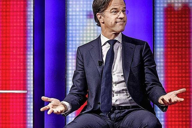 Rutte steuert in den Niederlanden vierte Amtszeit an