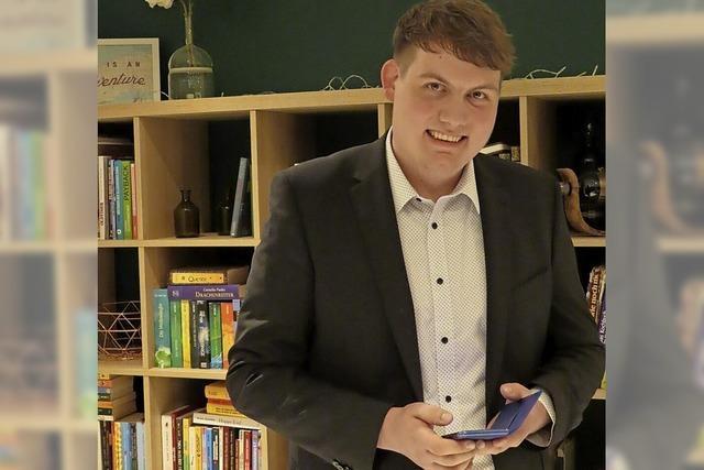 Niklas Nüssle zieht in den Landtag ein