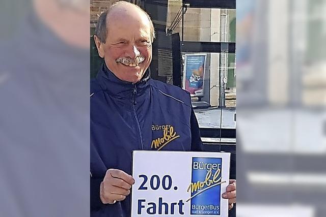 200 Fahrten für den Bürgerbus