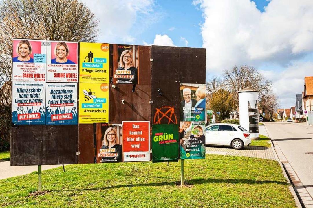 41 Prozent der Denzlinger haben die Grünen gewählt.  | Foto: Hubert Gemmert