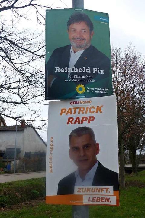 Reinhold Pix (oben) schnitt bei der Wahl deutlich besser ab als Patrick Rapp.     Foto: Andrea Gallien