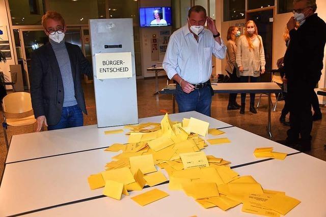 Nägelesee-Nord: Der Entscheid fällt knapp für die Bebauung aus