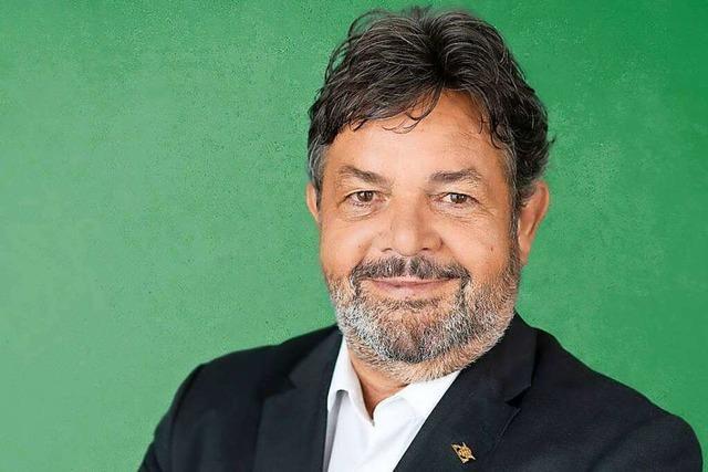 Der Grüne Reinhold Pix holt Direktmandat im Wahlkreis Breisgau
