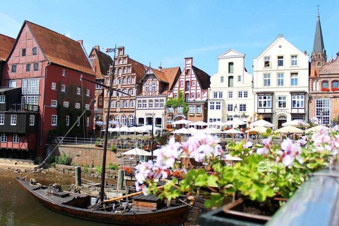 Idyll zum Verweilen: der Lüneburger Stintmarkt  | Foto: Mathias Schneider (Lüneburg Marketing GmbH)