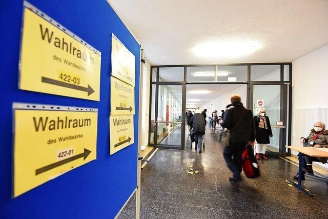 So wurde in Freiburgs Stadtteilen bei der Landtagswahl gewählt
