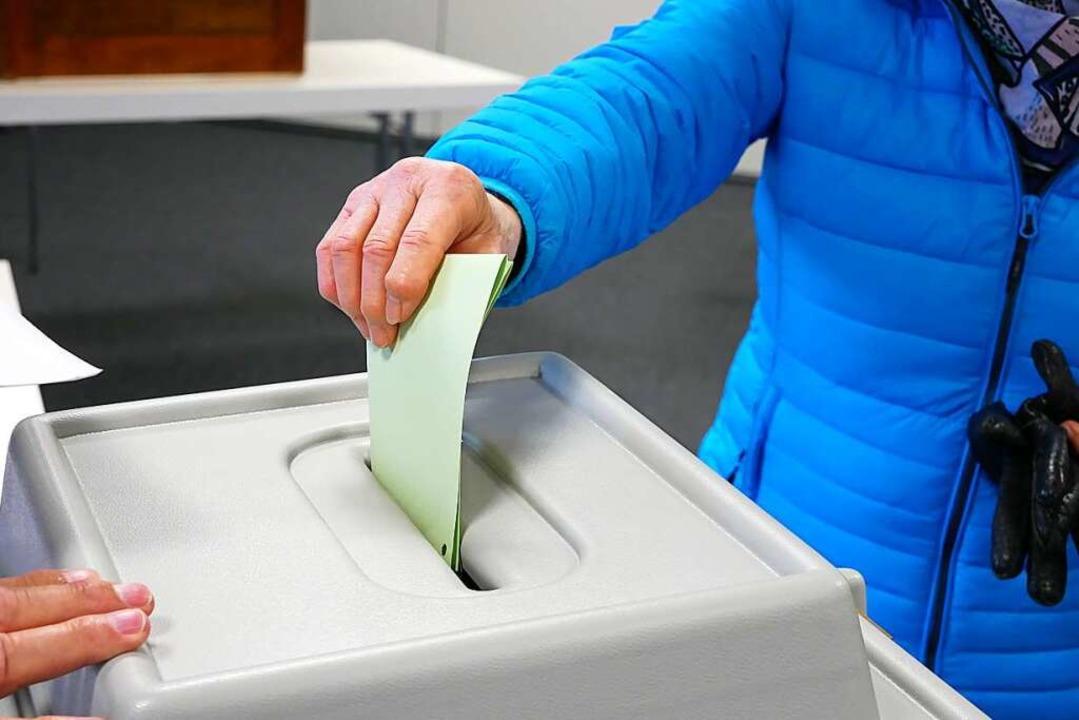 Die Wahlbeteiligung blieb  in fast all...n Werten der Landtagswahl 2016 zurück.  | Foto: Eva Korinth
