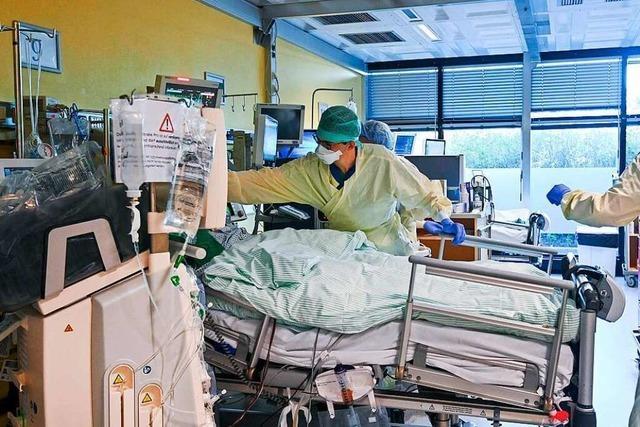 Intensivärzte fordern sofortige Rückkehr zu Lockdown