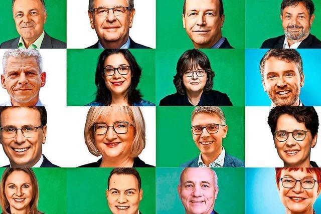 Diese Politikerinnen und Politiker hat Südbaden in den Landtag gewählt