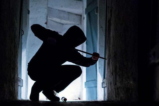 Einbrecher scheitern an der Eingangstür