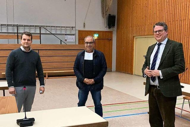 Die Freude über sein Ergebnis ist bei Felix Düster (FDP) aus Grenzach-Wyhlen groß