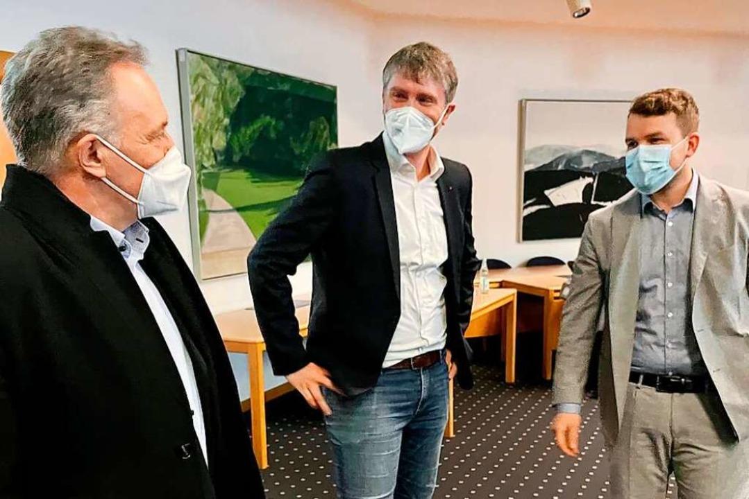 Neben Wahlkreissieger Josha Frey  zieh...ter  (von links) verfehlte ein Mandat.  | Foto: Barbara Ruda