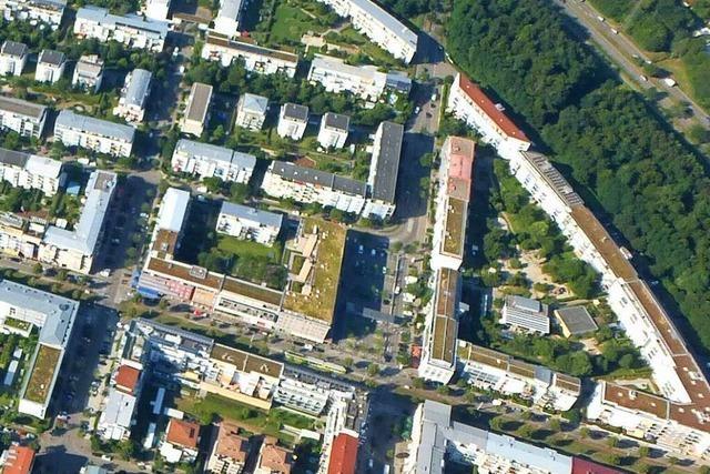 In Freiburg-Rieselfeld spielen die Immobilienkonzerne Monopoly