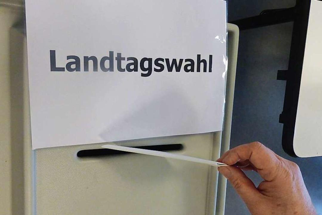 Am Sonntag wurde in Baden-Württemberg gewählt.  | Foto: Andrea Gallien