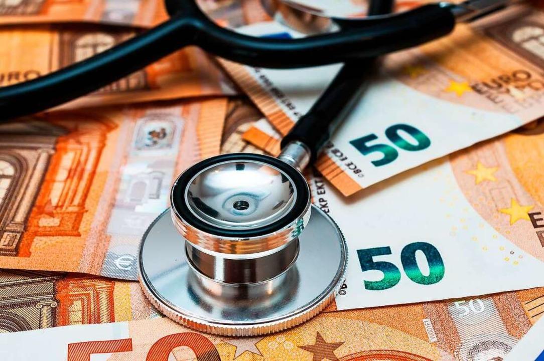 Eine private Krankenversicherung kann teuer werden.  | Foto: Stockfotos-MG  (stock.adobe.com)