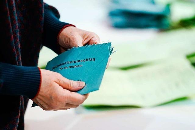 Wie die Auszählung in einem Schopfheimer Briefwahlbezirk lief