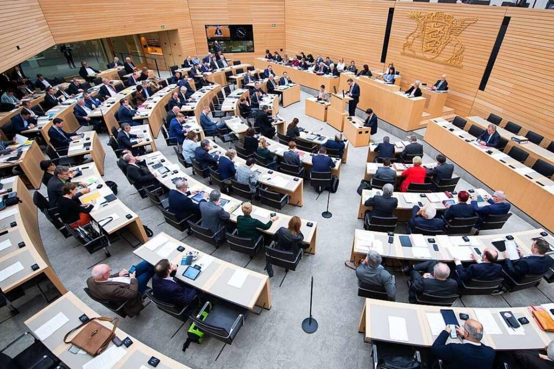 Der Anteil der weiblichen Abgeordneten...nteil mit 48,3 Prozent bei den Grünen.  | Foto: Tom Weller (dpa)