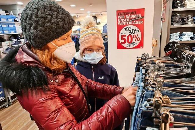 Südbadens Einzelhandel gleicht im Lockdown einem Flickenteppich