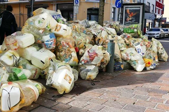 Die Gelben Säcke im Landkreis Lörrach sind etwas stabiler geworden