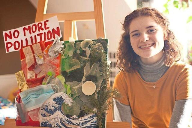 17-Lahrerin war mit einer Collage bei einem Bundeswettbewerb erfolgreich