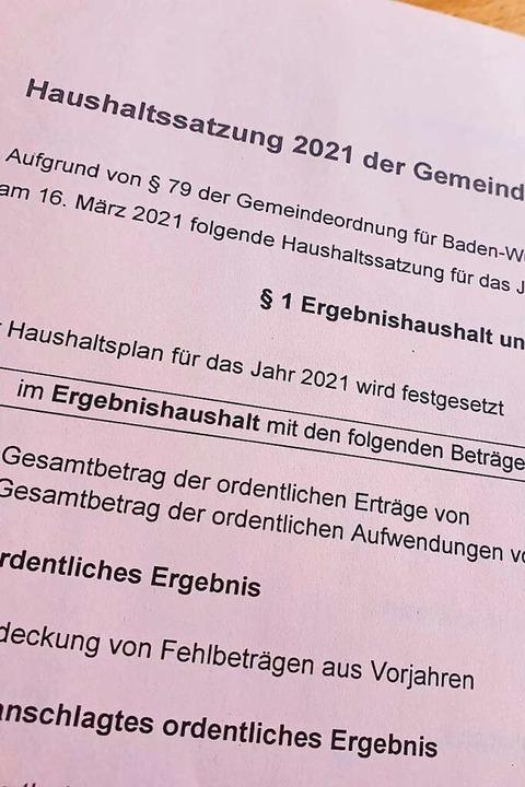 Nach der Absetzung der Haushaltsverabs...ll nun am 16. März entschieden werden.  | Foto: Michael Sträter