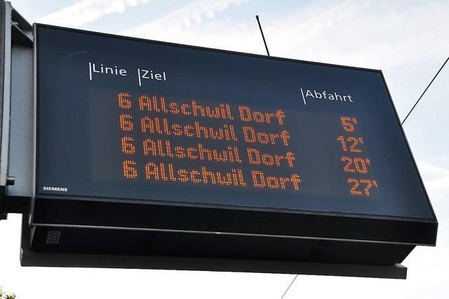 Der Kreis Lörrach stellt einen Förderantrag für digitale Anzeigetafeln