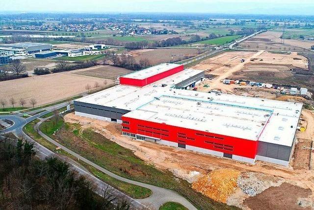 Firma Graf baut Logistikzentrum im Neurieder Gewerbegebiet Basic