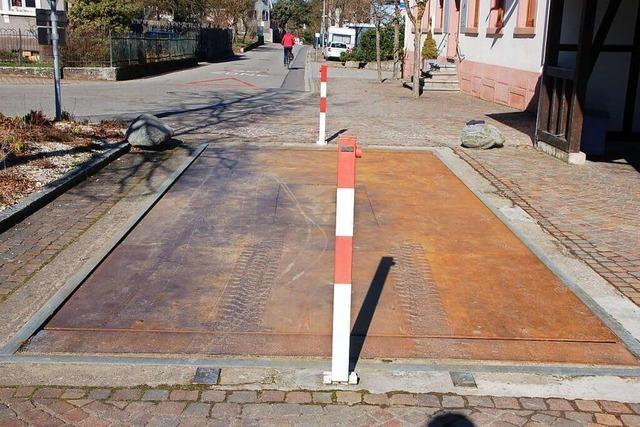 Die Brückenwaage in Adelhausen wird endgültig geschlossen