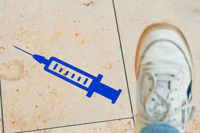 Vorerst können im Kreis Lörrach keine neuen Impftermine vereinbart werden
