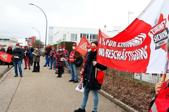 IG Metall organisiert Warnstreiks in Lahr
