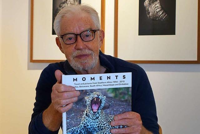 Der Weiler Fotograf Rolf Frei hat einen neuen Bildband herausgebracht