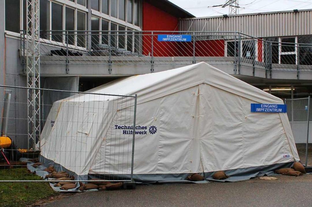 Bis auf weiteres sind die Impfungen mi...s Impfzentrum am Dienstag geschlossen.    Foto: Annika Sindlinger