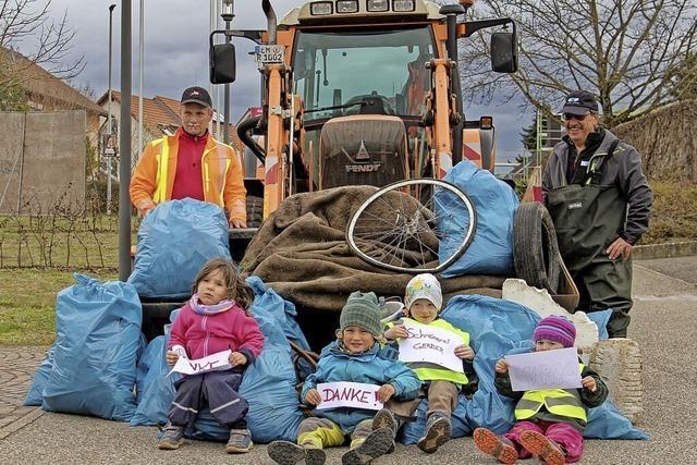 Einfach anpacken gegen die Müllflut