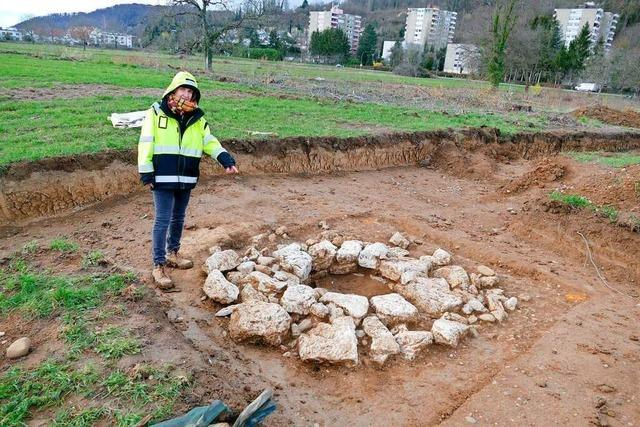 Funde aus der Römerzeit verzögern das neue Baugebiet in Wyhlen
