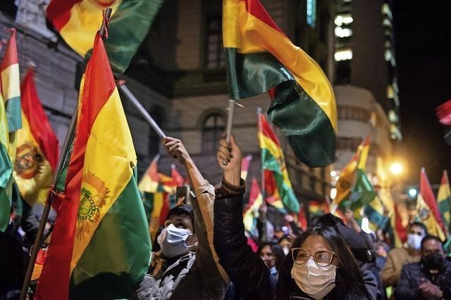 Proteste in Bolivien