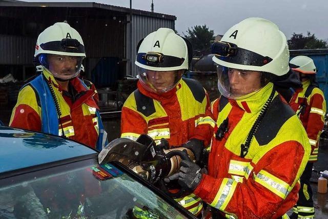 Die Binzener Feuerwehr hofft, bald wieder in Kleingruppen üben zu können