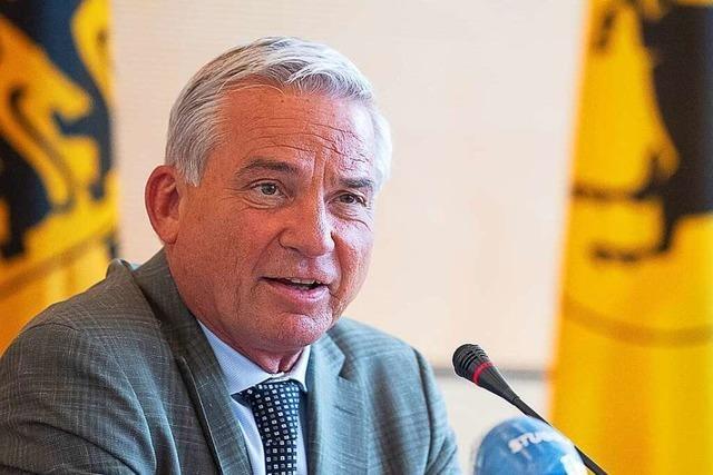 CDU-Landeschef Strobl ist ein neuer, alter Hoffnungsträger