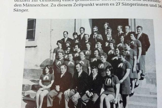 Der Gesangverein Altenheim war fast am Ende, heute besteht er seit 150 Jahren