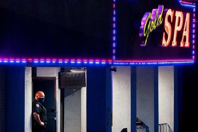Acht Menschen in drei Massage-Salons in Georgia erschossen