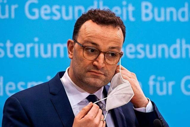 CDU-Gesundheitsminister Jens Spahn steht massiv in der Kritik