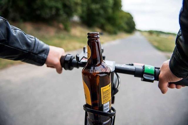 Polizei stoppt in Rheinfelden betrunkenen E-Scooter-Fahrer