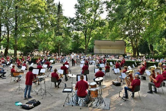 Die Blasmusikvereine im Landkreis Lörrach hoffen auf den Sommer