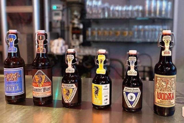 Verkosten Sie Biere der Brauerei Ganter per Livestream!