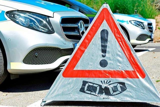 Hoher Sachschaden bei Auffahrunfall in Lörrach