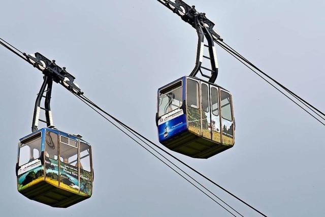 Die Schauinslandbahn geht wieder in Betrieb