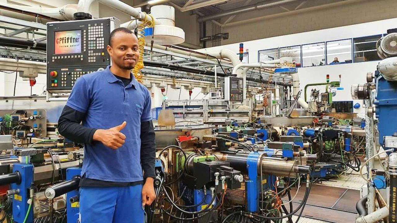 Industriemechaniker Favour Ojei   | Foto: Mesa Parts