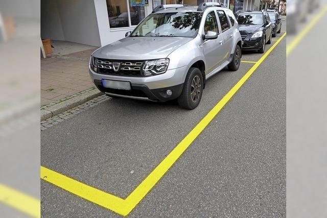 Parkplätze sollen weiter als Schikanen dienen