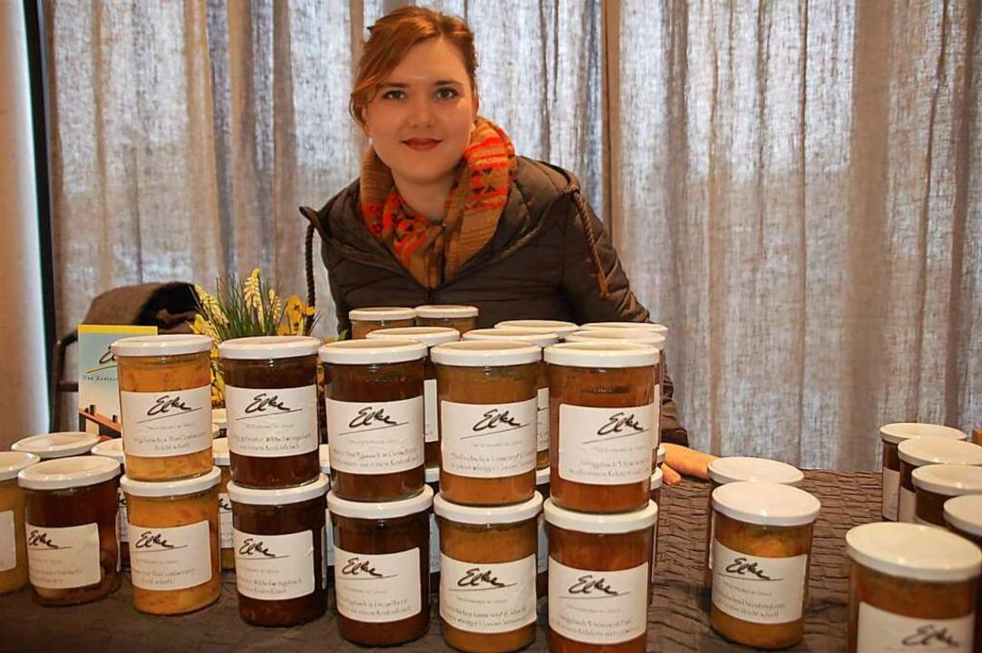 Kreative Einmalverpackungen fürs Essen...in Gläsern. Pfand wird nicht genommen.  | Foto: Petra Wunderle