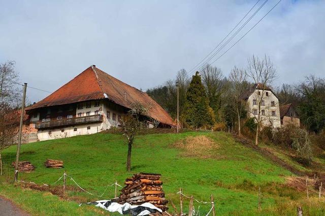 Unter Denkmalschutz stehender Reschhof in Gutach-Siegelau wird restauriert